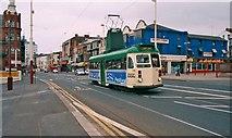SD3036 : Tram 631 near Metropole Hotel by P L Chadwick