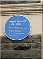ST6376 : Blue plaque for Robert Taylor GC by ceridwen