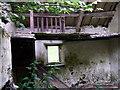 SN1447 : Tumbledown cottage interior by ceridwen