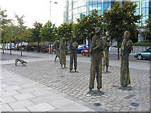 O1634 : Famine Memorial, Dublin by John Gibson