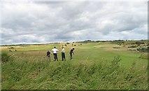 NT4681 : Luffness New Golf Club by Richard Webb