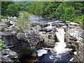 NH4116 : Falls of Invermoriston by Colin Smith