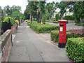SZ1293 : Boscombe East: postbox № BH7 290, Harewood Avenue by Chris Downer