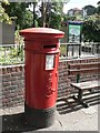 SZ1091 : Boscombe: postbox № BH1 61, Christchurch Road by Chris Downer