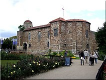 TL9925 : Colchester Castle from its park by Rob Farrow