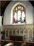 TG1022 : St Michael's church - the chancel by Evelyn Simak