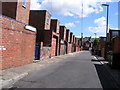 NZ3066 : A Wallsend back-lane by Mac McCarron