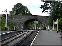 SJ1143 : Carrog Station by Graham Taylor