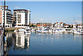 SU4210 : Ocean Village Marina, Southampton, Hampshire by Oast House Archive
