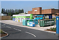 SJ5115 : Recycling centre at Tesco by Dave Croker