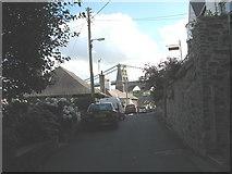 SH5571 : Pont y Borth from Porth y Wrach by Eric Jones
