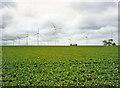 TG4719 : Wind Turbines at East Somerton, Norfolk by Christine Matthews
