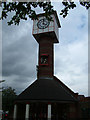 TQ5474 : Orchard Centre Clock Tower by Ken Brown
