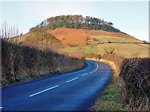 SE7296 : New Road, above Rosedale by Peter Church
