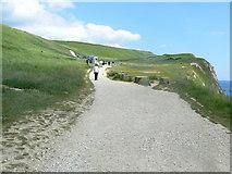SY8080 : South West Coast Path - heading east by Sandy B