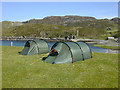 NC1544 : The campsite, Scourie by Nigel Brown