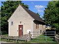 SP1713 : Telephone Exchange, Sherborne, Glos by David Hillas