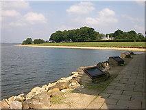 SK9306 : Rutland Water Shoreline by Ian Rob
