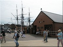 SU6200 : Public toilets near HMS Victory within Portsmouth Dockyard by Basher Eyre