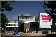 SP0198 : Old Walsall College, Main Entrance by Derek Bennett