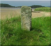 C0735 : Standing stone, Clonmass Bay by Rossographer