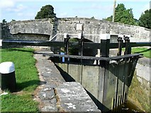 N6618 : Canal lock by James Allan