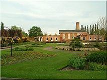 NY3853 : Carlisle Crematorium by Rose and Trev Clough
