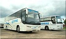 J3474 : Coaches, Belfast by Albert Bridge