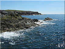 SH1020 : The south west coast of Bardsey by David Medcalf