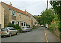 ST7468 : 2008 : Church Street Woolley from the east by Maurice Pullin