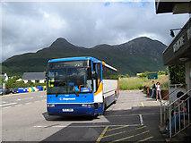 NN0958 : Bus stop by Jonathan Wilkins