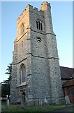 TQ8485 : The tower of St Clements Church, Leigh-on-Sea by Trevor Harris