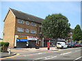 TQ4990 : Collier Row: White Hart Lane shops and flats by Nigel Cox