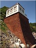 SX9265 : Oddicombe - the cliff railway beach station by Derek Harper