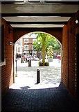 SJ9223 : Bank  Passage, Stafford by Simon Huguet