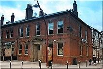 SP0198 : Corner of Darwall Street & Leicester Street by Derek Bennett