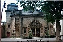 SP0198 : Walsall Town Hall entrance by Derek Bennett