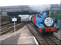 SD8010 : Thomas the Tank Engine arrives at Bury by Paul Anderson