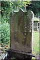 NT1024 : The martyr's grave at Tweedsmuir Kirkyard by Walter Baxter