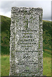 NT0612 : The John Hunter memorial by Walter Baxter
