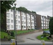 SE0724 : Hanover House Housing Association Flats - Pye Nest Road by Betty Longbottom