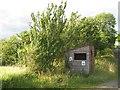 NY4476 : Bus shelter near Penton by Richard Webb