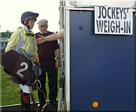 G9072 : Jockeys' Weigh- In by louise price