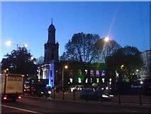 TQ2882 : Church Opposite Great Portland Street Station by Paul Bolland