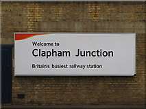 TQ2775 : Britain's busiest railway station ... by Mike Quinn