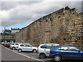 NZ2463 : 14th C town walls by Mike Quinn