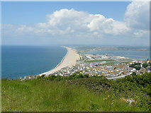 SY6774 : Chesil beach by Stan Wray