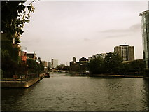 TQ3283 : City Road Basin by Chris Whippet