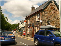 SH5848 : Beddgelert Post Office by Eirian Evans