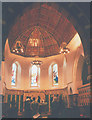 TQ2463 : Chancel of St Dunstan's church by Stephen Craven